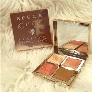 NIB Becca BFFs Bronze, Blush & Glow Palette ❤️